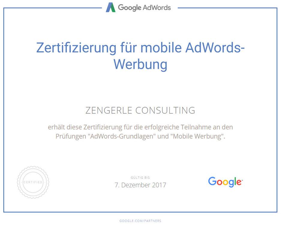 Mobil Werbung