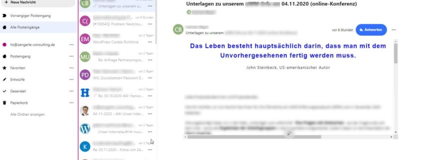 Nextcloud-E-Mails